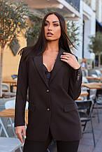Пиджак женский коричневого цвета