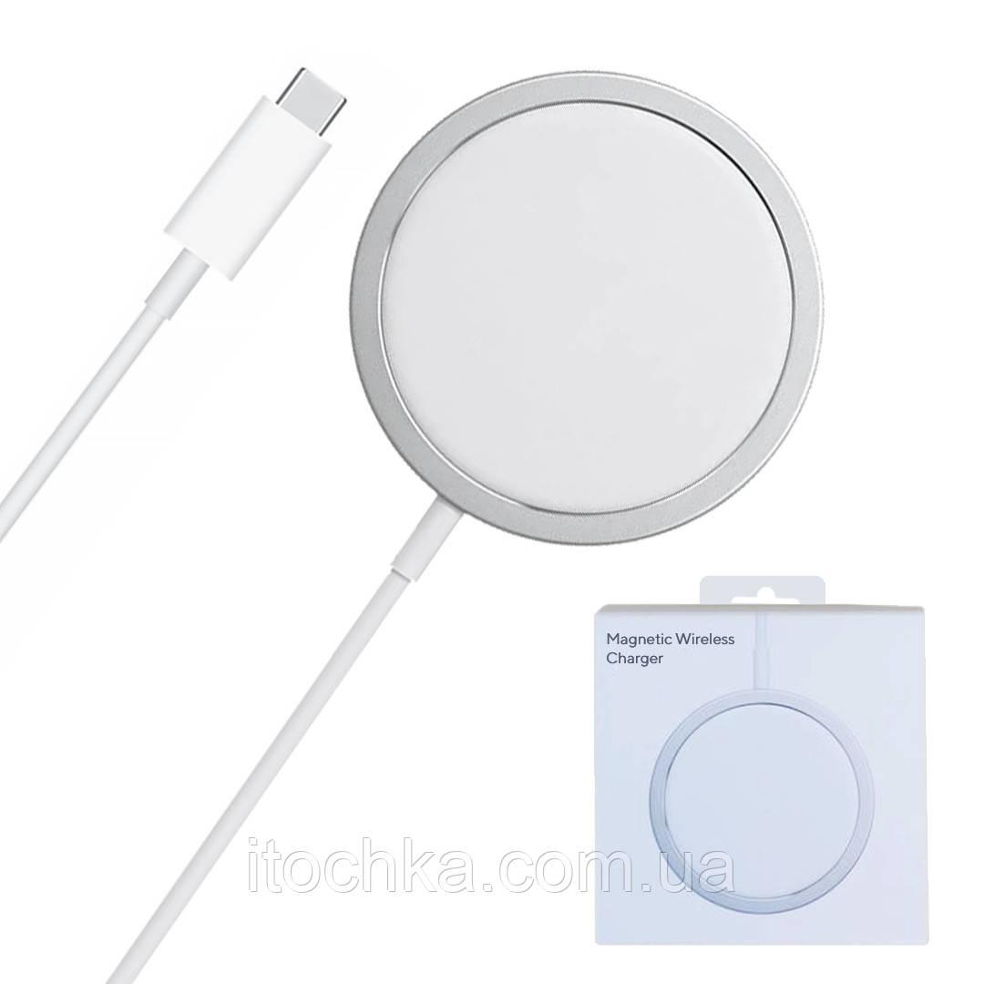 Магнитная беспроводная зарядка Apple MagSafe Charger for iPhone 12 | 12 Pro | 12 Pro Max (MHXH3)