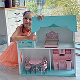 Домик для кукол. М 002.Бесплатная Доставка!, фото 3