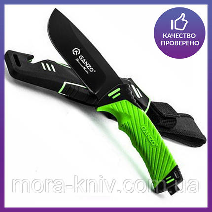 Нож выживания Ganzo (green) G8012-LG, фото 2