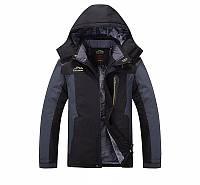 Мужская зимняя ветро-влагозащитная куртка парка, фото 1