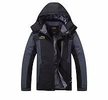Мужская зимняя ветро-влагозащитная куртка парка
