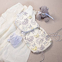 Евро-пеленка кокон для новорожденных