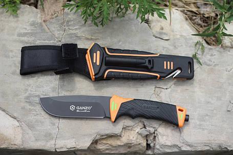 Нож выживания Ganzo (Orange) G8012, фото 2