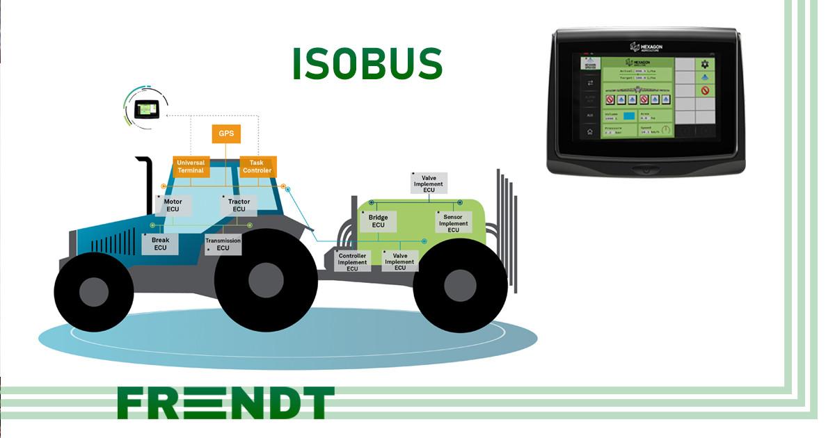 Системы управления внесением продуктов Raven ISOBUS