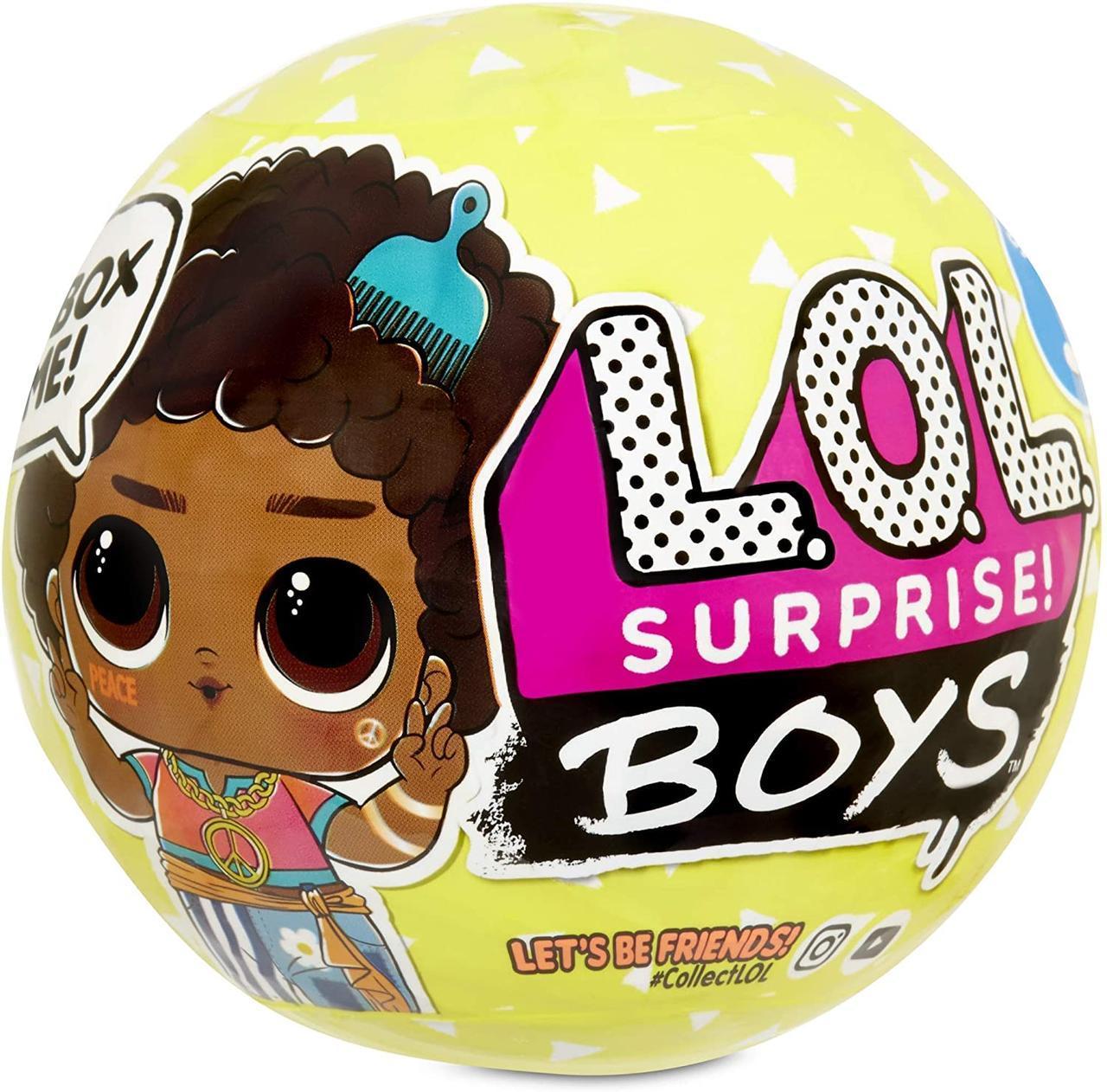 Кукла Лол Мальчик LOL Surprise S3 Boys, 3 серия с 7 сюрпризами, оригинал MGA