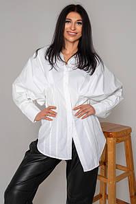 Жіноча асиметрична блузка з широкими рукавами (Бернарда jd)