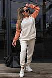 Спортивный костюм женский с начесом 42-44,46-48, фото 3
