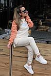 Спортивный костюм женский с начесом 42-44,46-48, фото 6