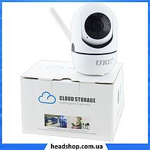 IP камера видеонаблюдения WiFi CAMERA IP Y13G - беспроводная поворотная панорамная камера с распознаванием лиц, фото 3