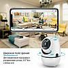 IP камера видеонаблюдения WiFi CAMERA IP Y13G - беспроводная поворотная панорамная камера с распознаванием лиц, фото 2