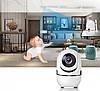 IP камера видеонаблюдения WiFi CAMERA IP Y13G - беспроводная поворотная панорамная камера с распознаванием лиц, фото 6