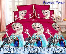 Постельное белье детское ТАГ 1.5-спальное. Ткань ранфорс. Расцветка для девочки. Холодное сердце.