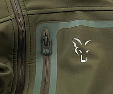 Дышащая куртка Fox Collection Green/Silver Shell Hoodie, фото 3