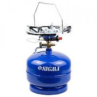 Комплект газовый кемпинг с пьезоподжигом Comfort 5л SIGMA 2903111