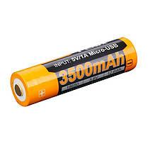 Аккумулятор 18650 Fenix ARB-L18-3500U (3500 mAh), фото 3