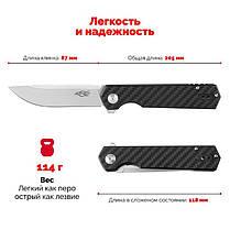 Нож Firebird (by Ganzo) FH11CF, сталь D2, фото 2