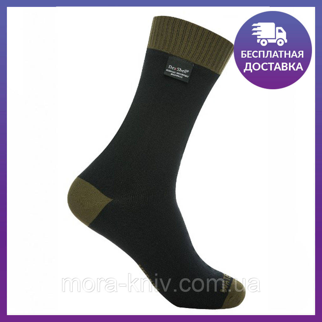 Водонепроницаемые носки Dexshell Thermlite Green DS6260XL