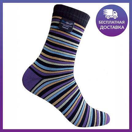 Водонепроницаемые носки DexShell Ultra Flex Socks DS653STRIPEM, фото 2