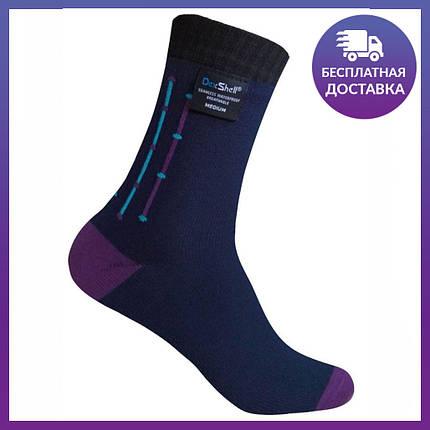 Водонепроницаемые носки DexShell Ultra Flex Socks Navy DS653NVYJACM, фото 2