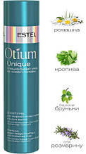 Шампунь для жирной кожи головы и сухих волос Estel Otium Unique