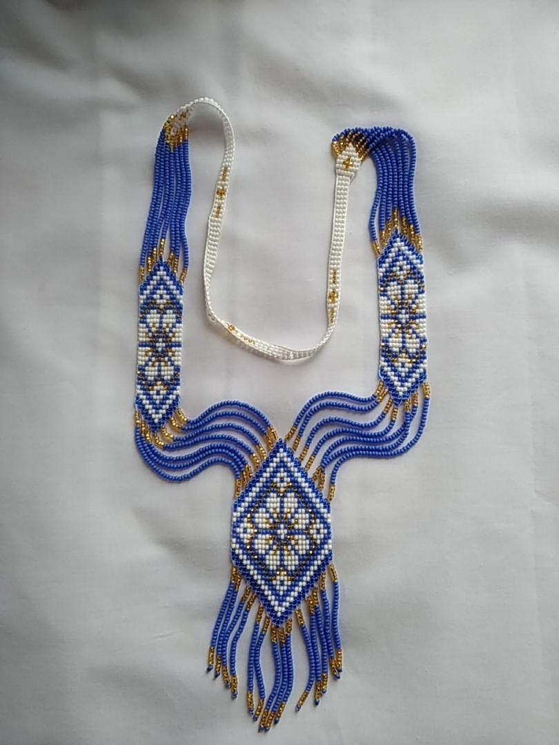 Українська гердана з бісеру, ручна робота