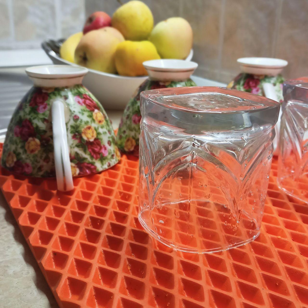 Коврик для сушки посуды EVALINE