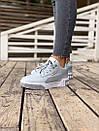Женские зимние кроссовки  PUMA Cali Grey/White FUR, фото 7