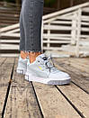 Женские зимние кроссовки  PUMA Cali Grey/White FUR, фото 10