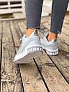 Женские зимние кроссовки  PUMA Cali Grey/White FUR, фото 5