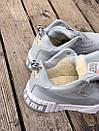 Женские зимние кроссовки  PUMA Cali Grey/White FUR, фото 9