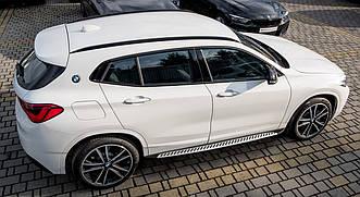 Подножки BMW X2 F39 пороги площадки