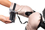 Рукавиці Bair Thermo Mittens капучіно, фото 4