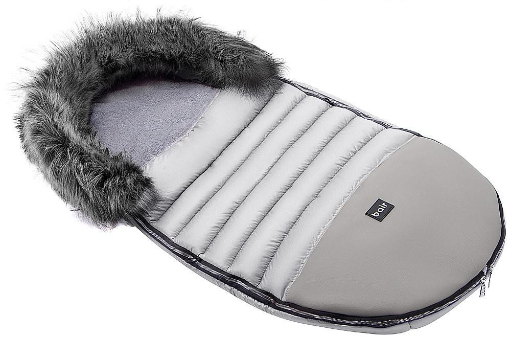 Зимовий конверт Bair Polar premium сірий - сіра шкіра