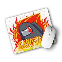 Килимок для мишки Амонг Ас (Sabotage Among Us) (25108-2426), фото 1