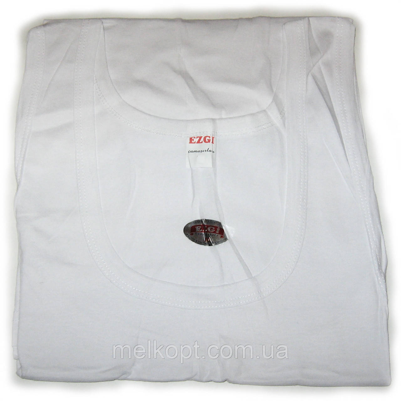 Мужские майки Ezgi - 34,00 грн./шт. (51-й размер, белые)