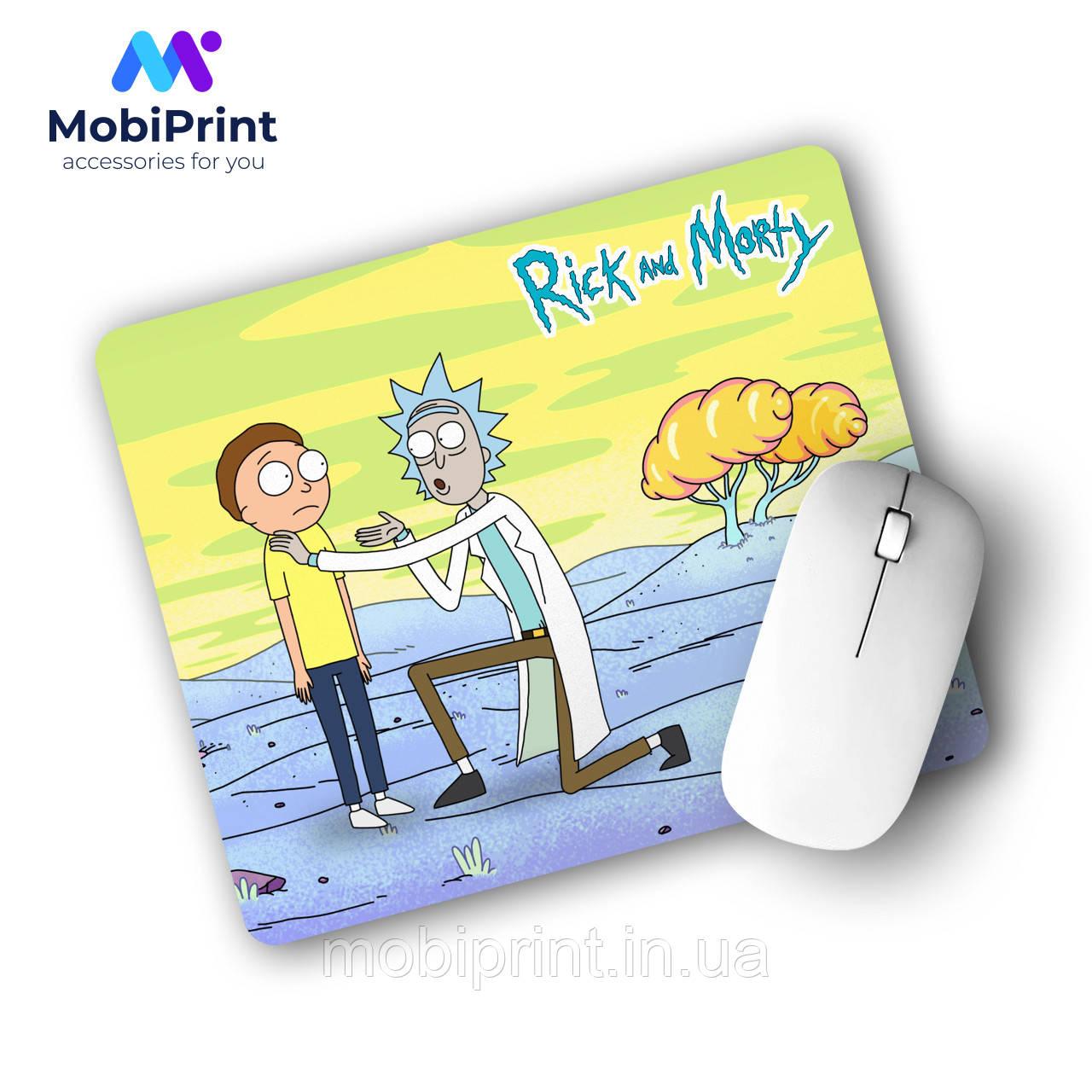 Коврик для мышки Рик и Морти (Rick and Morty) (25108-1233)