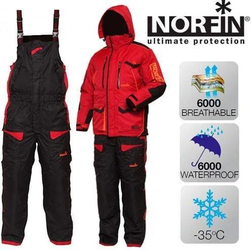 Зимний костюм Norfin Discovery Limited Edition (бардо 4512) (Размер XXXL)