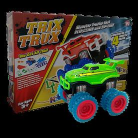 Ігровий набір Trix Trux LP100 канатний дитячий монстр-трак Зелений (hubber-228)