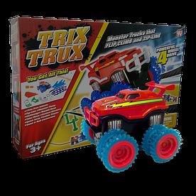 Ігровий набір Trix Trux LP100 канатний дитячий монстр-трак Червоний (hubber-227)