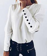 Кофта жіноча в смужку розмір норма 42-52, колір уточнюйте при замовленні, фото 1
