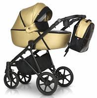 Детская коляска универсальная 3 в 1 Verdi Makan Elektro 03 new gold, золотой (Верди Макан Электро, Польша)