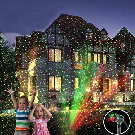 Лазерная установка Laser Star Shower Light + cassete
