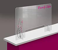 Настольный защитный экран для салона красоты мастера маникюра