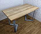 Металлические черные ножки для стола в кафе N45 подстолье из металла, ножки для стола, фото 6