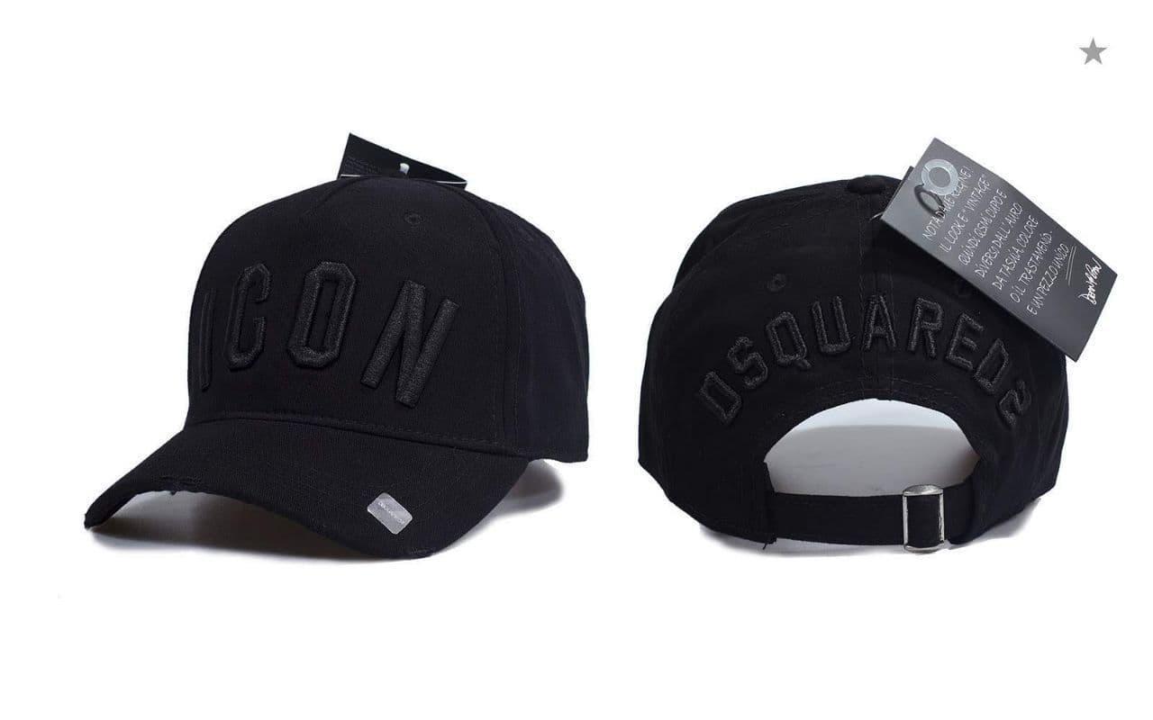 Брендовая кепка ICON CK246 черная