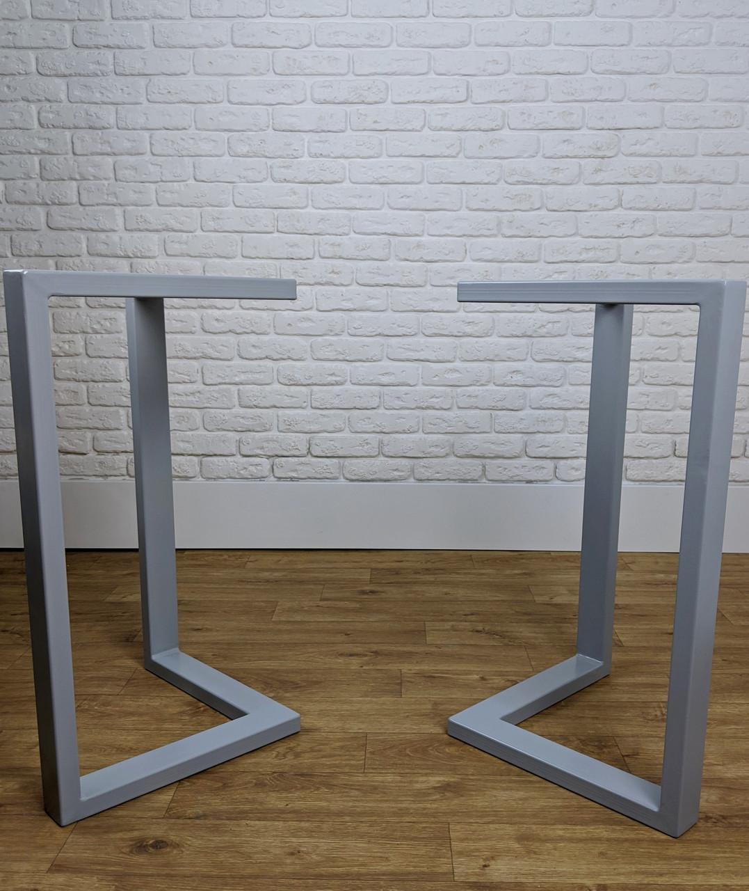 Металлические черные ножки для стола в кафе N45 подстолье из металла, ножки для стола