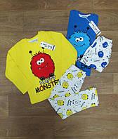 Детская пижама с рисунком Турция, детская турецкая одежда, интернет магазин, интерлок