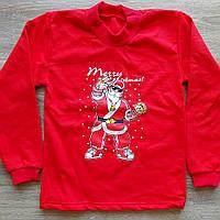 Детский тёплый новогодний гольфик MERRY CHRISTMAS с начёсом размер 40