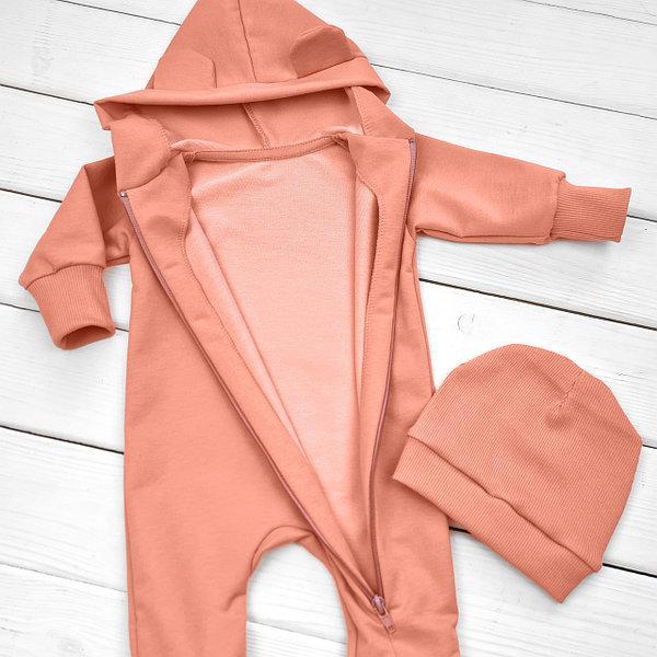 Детский утепленный ромпер (размеры 68 см,74 см,80 см,86 см,92 см)